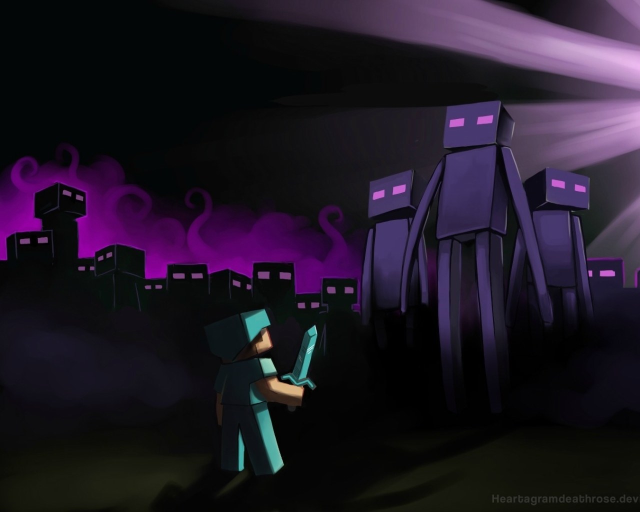 enderman minecraft wallpaper wolf - photo #20
