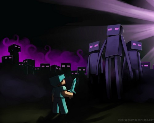 Enderman rule the planet o_o