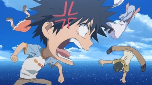 Enraged Touma