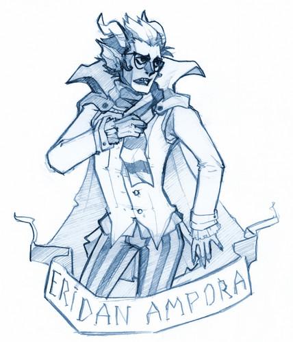 Eridan Ampora wallpaper with anime called Eridan Ampora