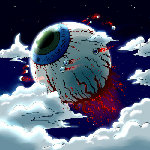 Eye Of Cthulhu - terraria Fan Art
