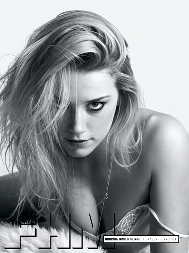 amber heard wallpaper possibly with a portrait called FHM (2008)