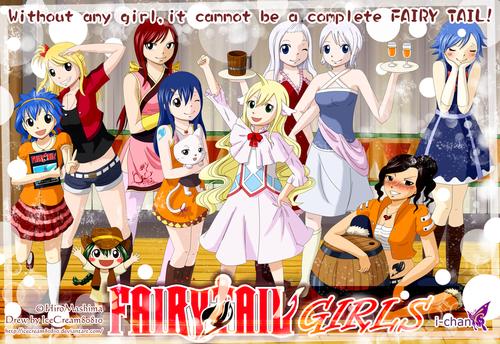 Fairy Tail Girls!<3