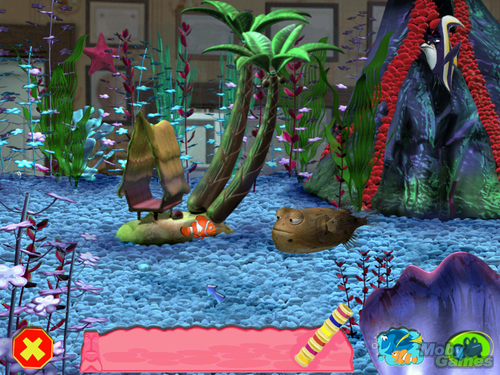 Finding Nemo kertas dinding containing a bouquet entitled Finding Nemo (video game)