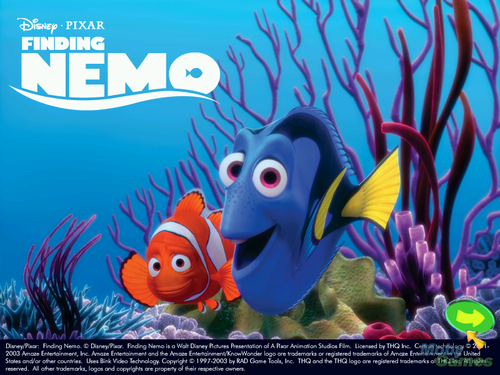 Finding Nemo kertas dinding probably containing Anime titled Finding Nemo (video game)