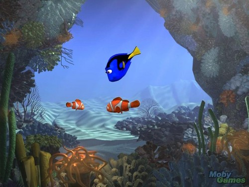 Finding Nemo kertas dinding entitled Finding Nemo (video game)