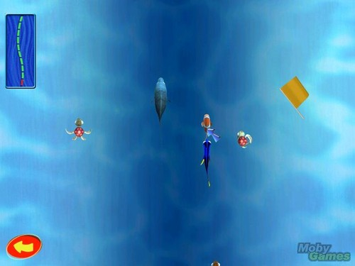 Finding Nemo wolpeyper titled Finding Nemo (video game)