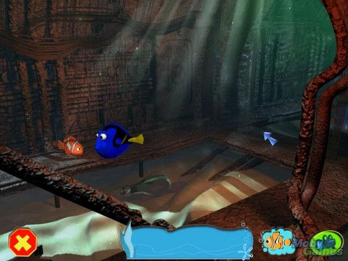 Finding Nemo wolpeyper possibly with a living room called Finding Nemo (video game)