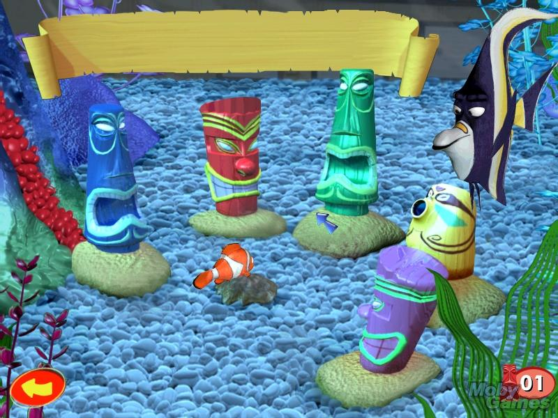 play finding nemo games free online