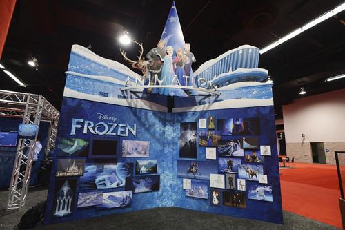 Холодное сердце D23 Expo 2013