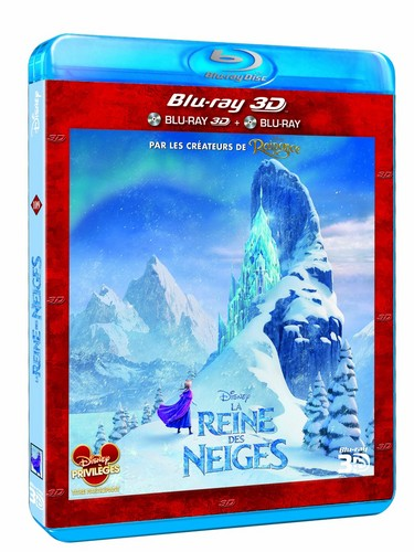 Frozen French 3D Blu-ray