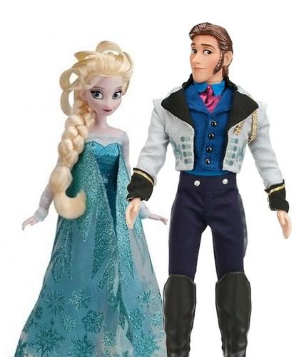 Nữ hoàng băng giá Disney Store búp bê