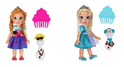 frozen Baby Anna and Elsa muñecas