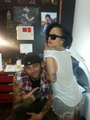 GaGa - new tattoo - monsterka-and-leonchii photo