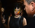 Gaga at Mickey's Gay Bar in West Hollywood (Aug. 12)