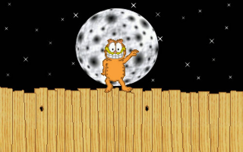 garfield wallpaper called Garfield: Attack of the Mutant Lasagna