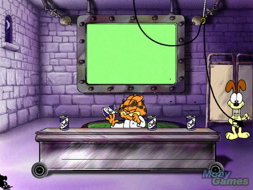 Garfield's Mad About gatos