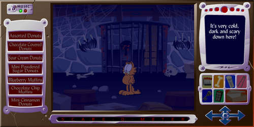 Garfield's Scary Scavenger Hunt II: Пончики of Doom