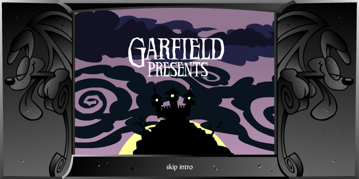 Garfield's Scary Scavenger Hunt