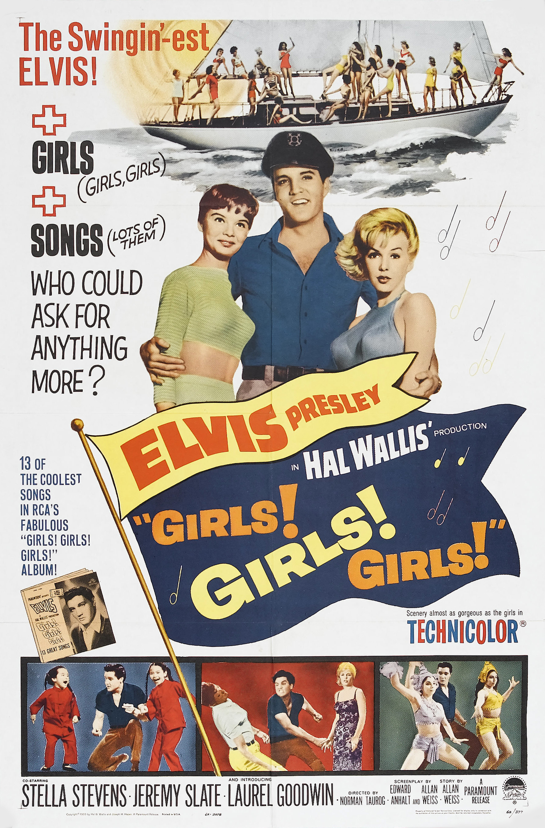 Elvis Presley Girls Girls Girls