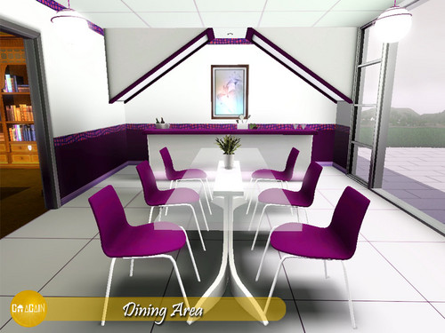 The sims 3 images goagain exoglam 39 s dining room hd for Sims 3 dining room ideas