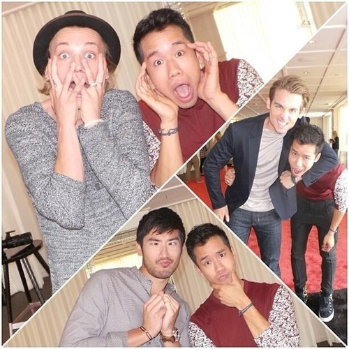 "Godfrey, Jamie and Kevin [""Just Jared""]"
