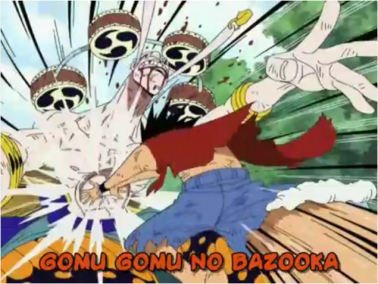Gomu Gomu No... Luffy!!! XD