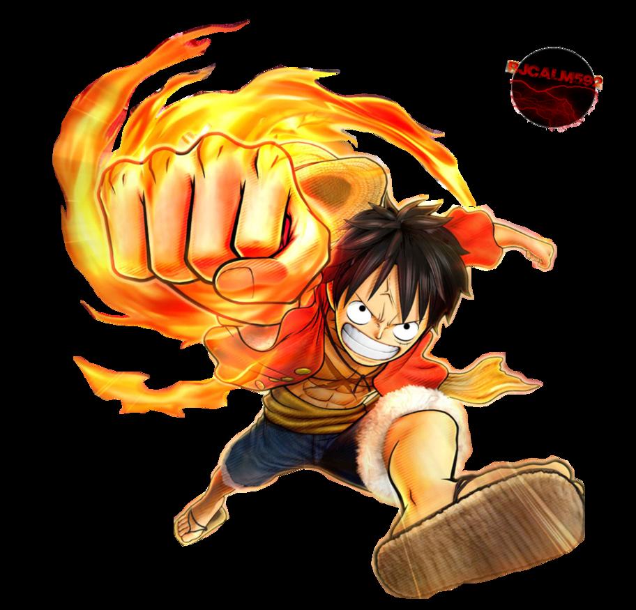 Gomu Gomu No... Luffy!!! XD