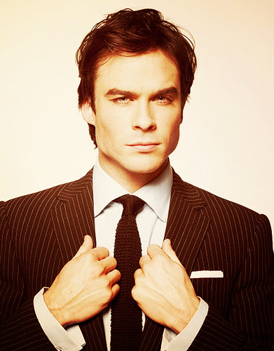 Ian Somerhalder Hintergrund containing a business suit, a suit, and a nadelstreifen called Good gone wild