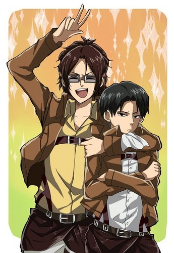Hanji Zoe and Rivaille