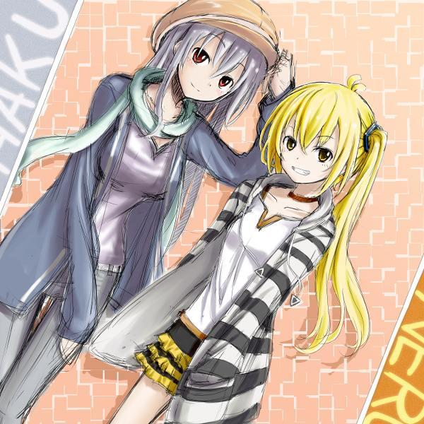 Vocaloid Neru And Haku Haku Yowane images Har...