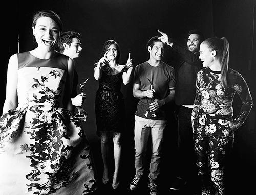 Holland Roden, Crystal Reed, Tyler Hoechlin, Tyler Posey and Dylan O'Brien