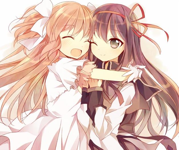 Homura & Goddess Madoka