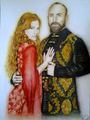 Hurrem and Suleiman - muhtesem-yuzyil-magnificent-century fan art