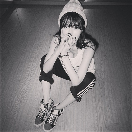 Hyuna's Instagram photos