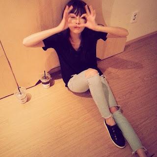 Hyuna's Instagram foto