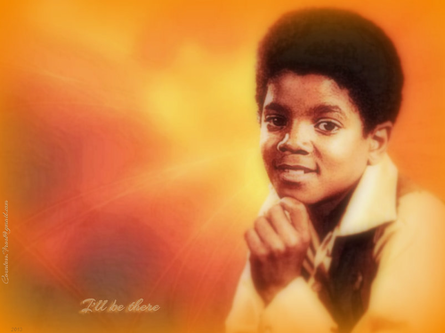 Michael Jackson wallpaper possibly with a concert called I'll be there