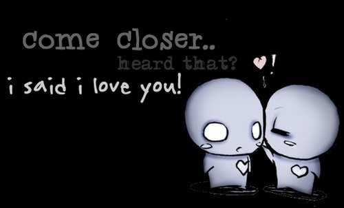 Pon and Zi/Azuzephre cartoons images I love you wallpaper and ...