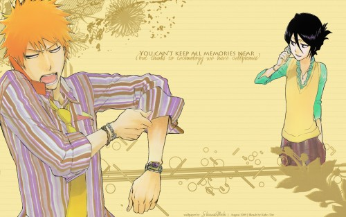 Ichigo and Rukia