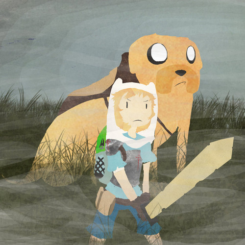 In the Mist (Bounty Hunter Finn and Jake)