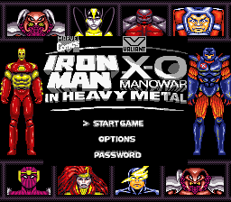 Iron Man / X-O Manowar in Heavy Metal