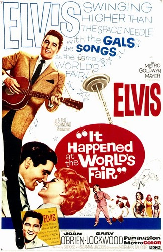It Happened At The World's Fair | Poster ಇ