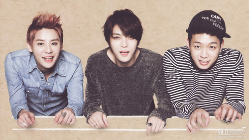 JYJ দেওয়ালপত্র probably containing a packing box called JYJ - '2013 Calender'