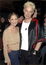 James Marsters and Sarah Michelle Gellar