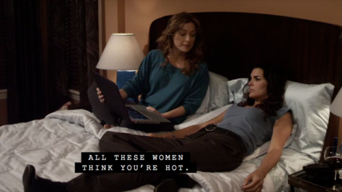 Rizzoli & Isles wallpaper with a living room, a family room, and a drawing room called Jane and Maura