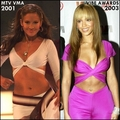 Copycat: Beyonce copies Jennifer Lopez [JLo 2001 vs Beyonce 2003] - jennifer-lopez fan art