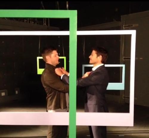 Jensen & Misha - CW Photoshoot