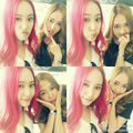 Jessica's and Krystal's cute selcas!