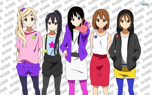 K-ON As A Group! <3