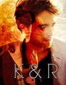 K & R  - robert-pattinson-and-kristen-stewart fan art